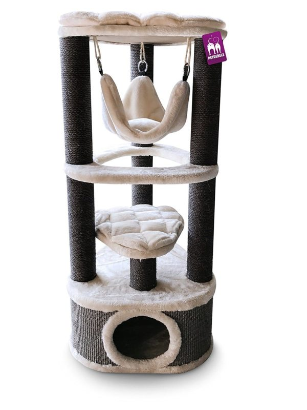 Cat Tree Kings & Queens Catharina 120cm Creme